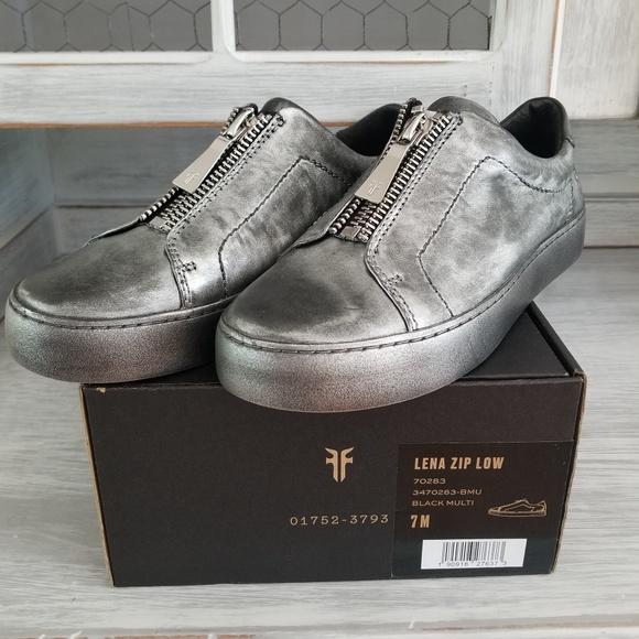 Frye Shoes | Frye Lena Zip Low | Poshmark